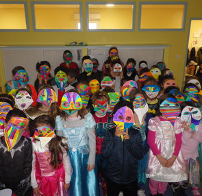 "Masques ""Commedia dell'arte"""
