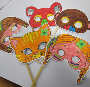 Confection de masques en ateliers du midi